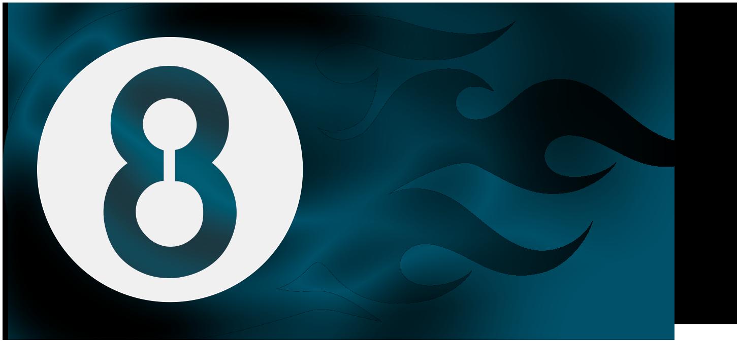 Fireball8 Design - Fireball Blue